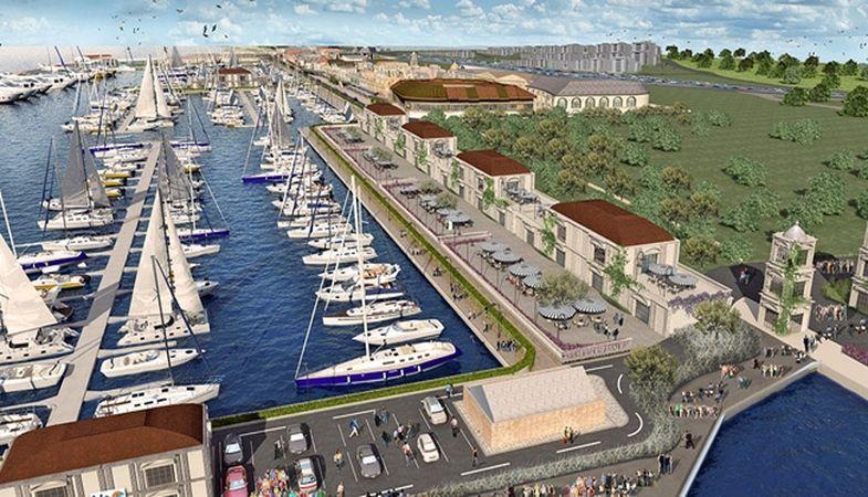 Büyükçekmece'ye Yeni Bir Marina Yapılacak