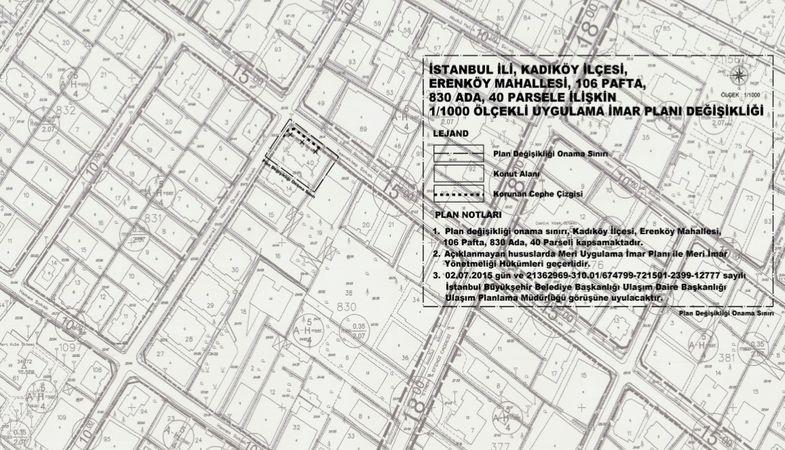 Kadıköy Erenköy Mahallesinin İmar Planı Askıya Çıktı!