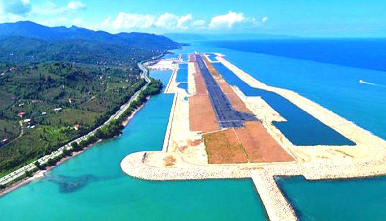 Rize Artvin Havalimanı Projesinde Kamulaştırma Kararı