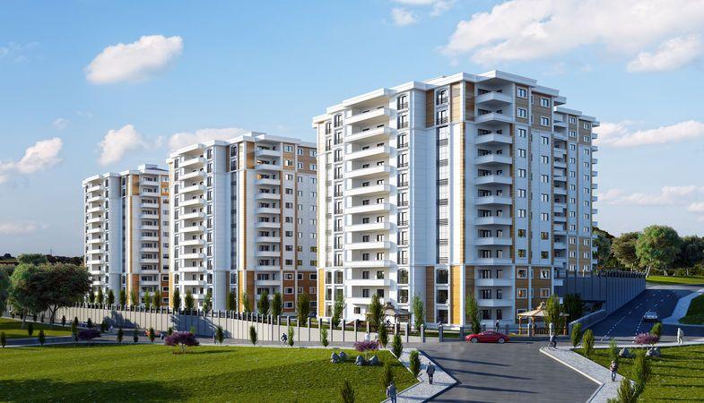 AKS Haliç Park Trabzon'da Yükseliyor