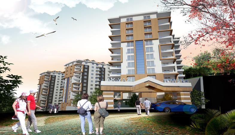Akyazı Towers Trabzon'da Yükseliyor