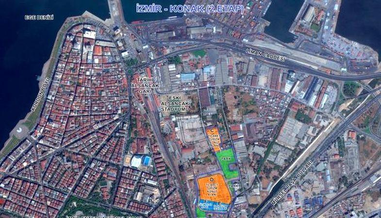 Emlak Konut İzmir Konak 2.Etap Bugün İhaleye Çıkıyor