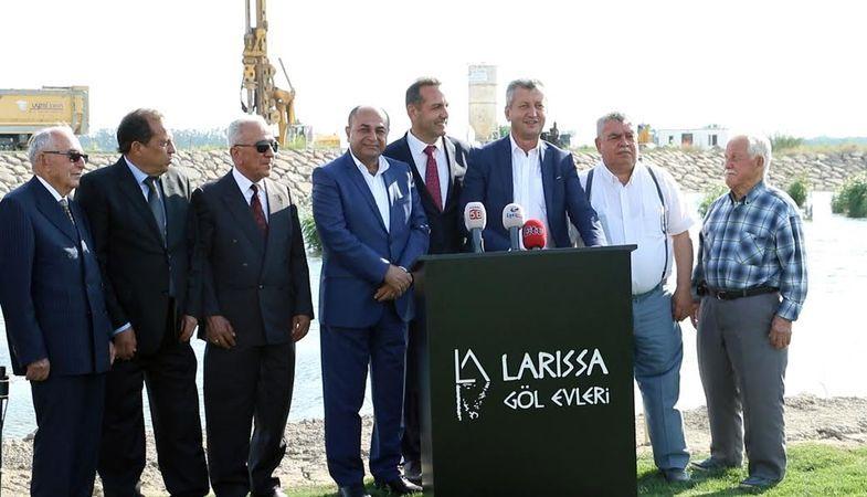Larissa Göl Evleri'nin İnşaatına Start Verildi!