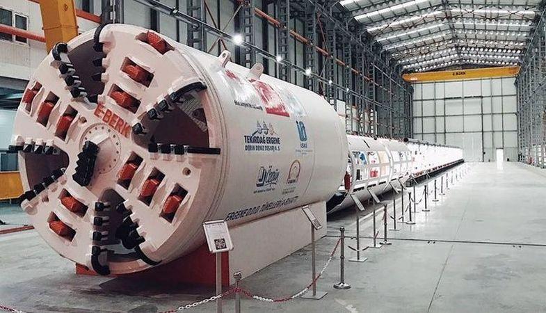 İlk Yerli Tünel Açma Makinesi Kullanıma Hazır!