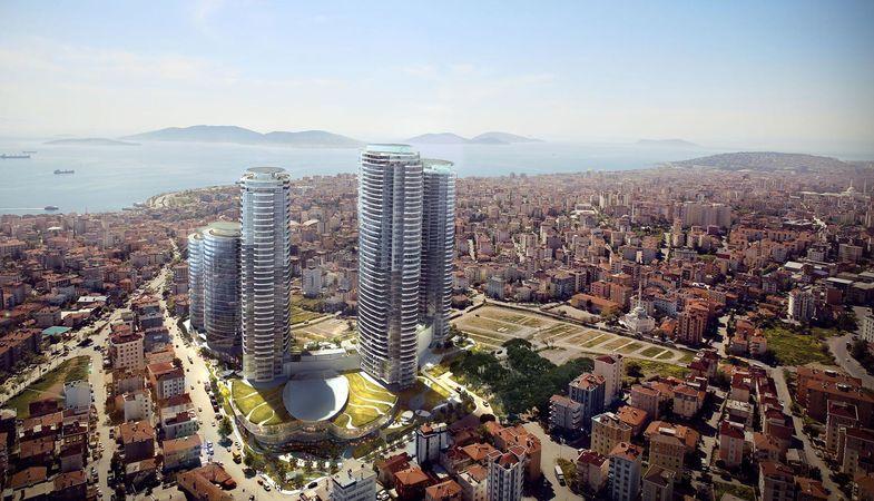 İş GYO'dan Altunizade ve Tuzla'da iki yeni proje