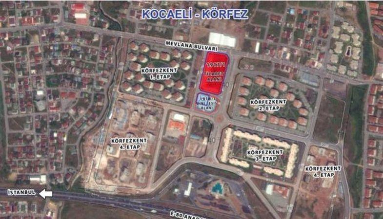 Kocaeli Körfezkent İhalesinde 11 Teklif Yapıldı