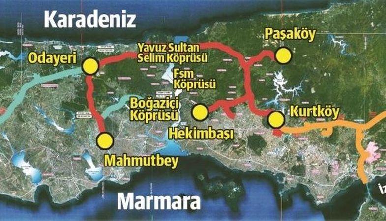 Yavuz Sultan Selim Köprüsü'nün Bağlantı Açılışı 4 Temmuz'da Yapılıyor