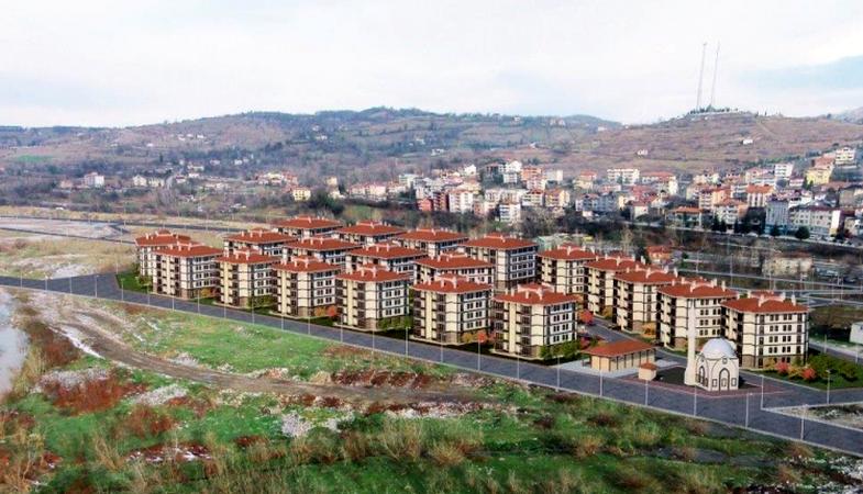 Zonguldak Devrek Toki Evleri'nin sahipleri yarın kura ile belirlenecek