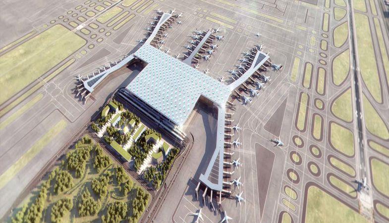 3. Havalimanı çalışmaları hız kesmeden sürüyor
