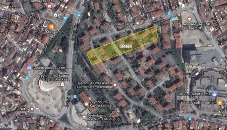 Emlak Konut Zeytinburnu Beştelsiz arsası için yüklenici firmayla anlaştı