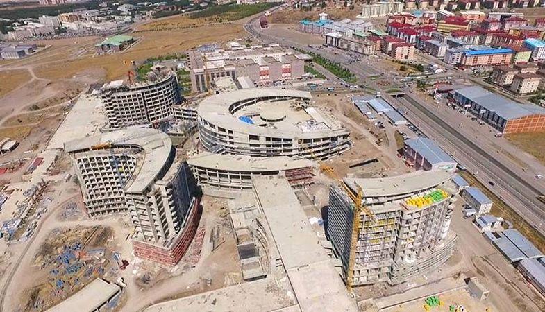 Erzurum Şehir Hastanesi inşaatının yüzde 65'i tamamlandı