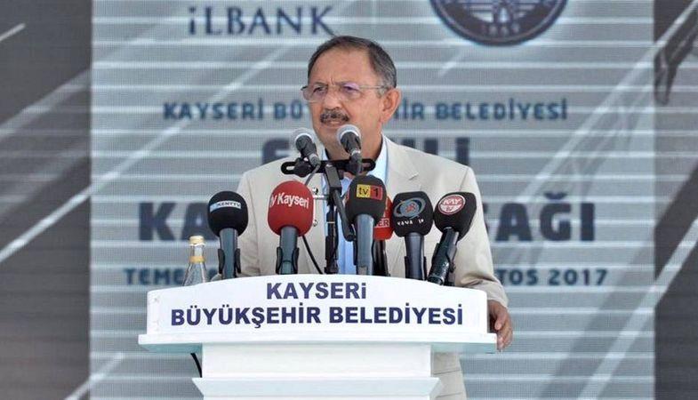 Kayseri'de 749 milyon liralık yatırımın temelleri atıldı