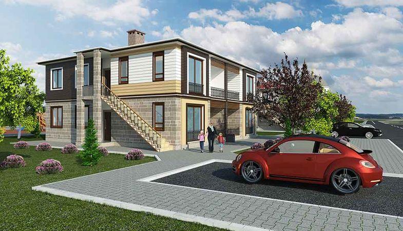 TOKİ Yozgat'ta villa görünümlü köy evi inşa edecek