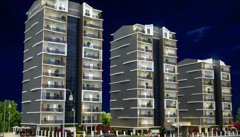 Yunuseli Konakları projesi modern mimarisiyle Bursa'da yükseliyor