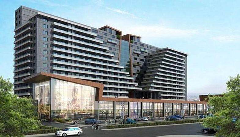 AP İstgate projesi göz alıcı mimarisiyle Ankara'da yükseliyor