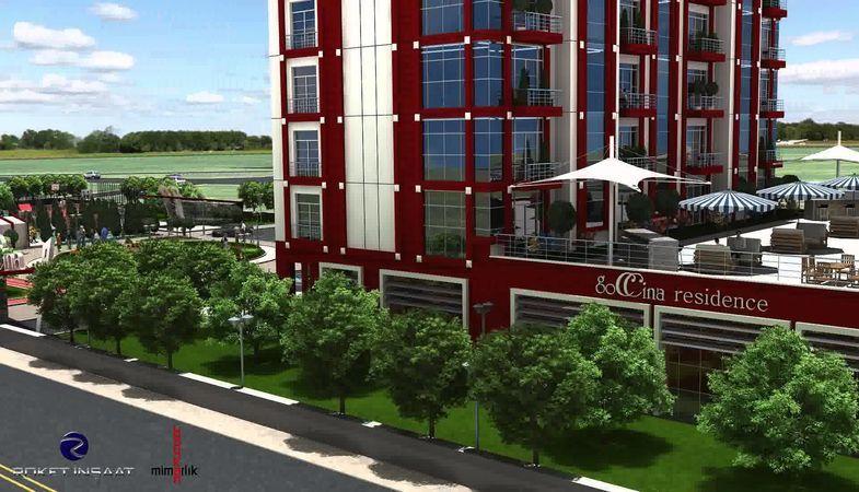 Goccina Residence 280 bin TL'ye otel konforunda konutlar
