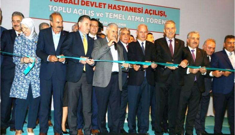 İzmir Torbalı Devlet Hastanesi'nin açılışı yapıldı