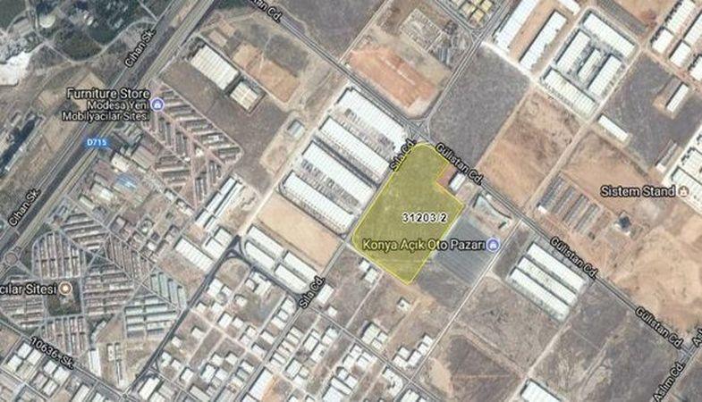 Konya Karatay Belediyesi 65 Milyon değerindeki arsasını satıyor