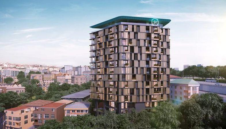 Mint E-5 projesi görkemli yapısıyla Kağıthane'de yükseliyor