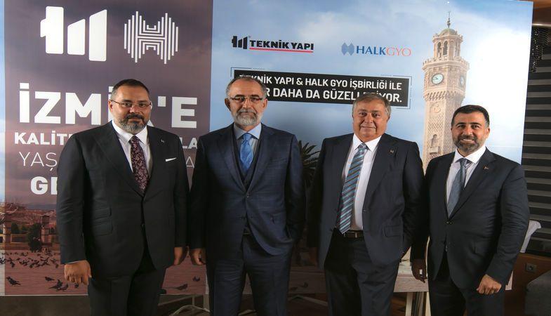 Teknik Yapı ve Halk GYO güçlerini İzmir projesi için birleştirecek