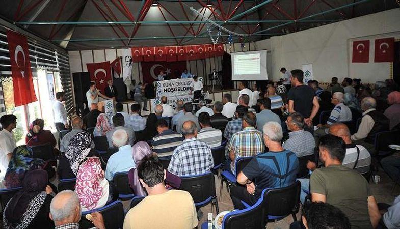 TOKİ Erzincan'daki 351 konutun hak sahipleri kurası çekildi