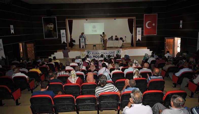 TOKİ Kahramanmaraş konutlarının emekli kurası düzenlendi