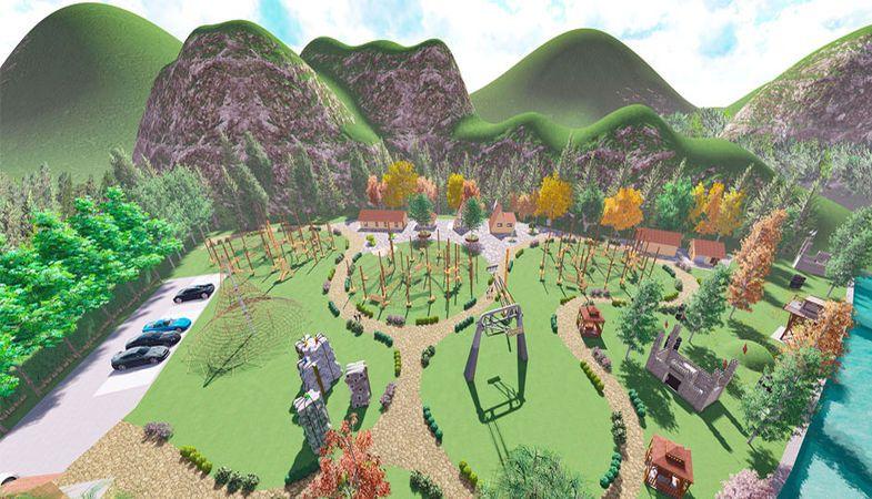 Uzungöl Tabiat Macera Parkı ihalesi için 9 firma yarıştı