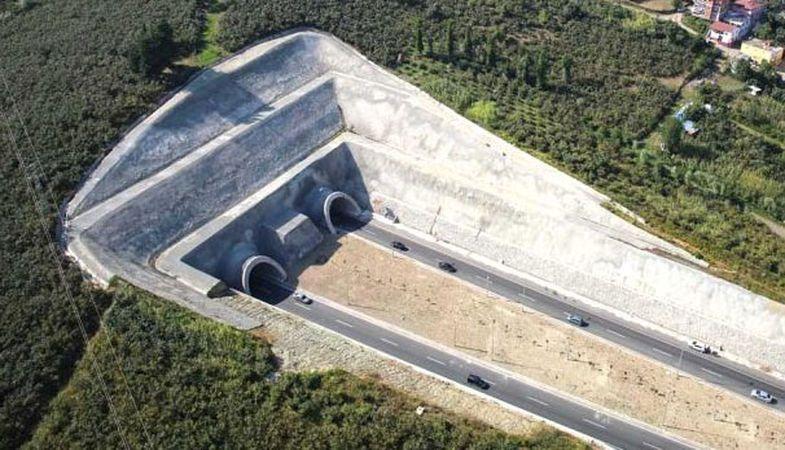 Yeni Zigana Tüneli projesinde 7 bin 700 metreye ulaşıldı
