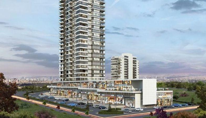 Anka Meydan projesi Yaşamkent'te yükseliyor