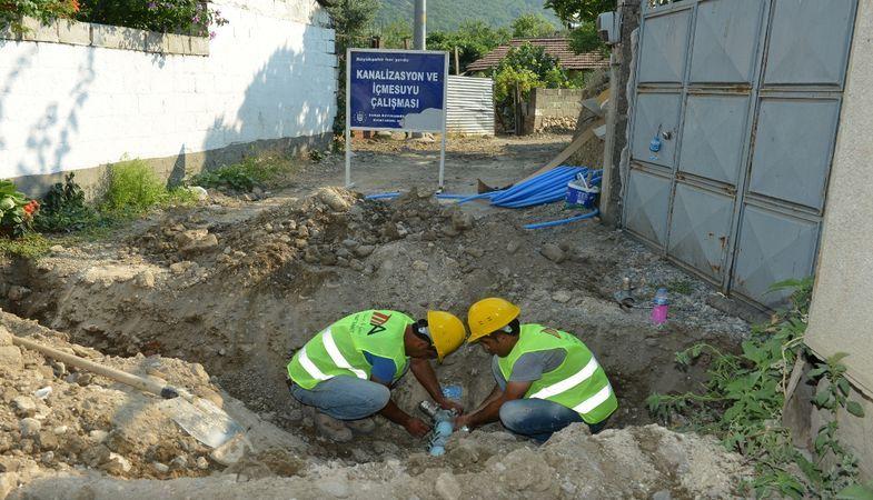 Bursa Büyükşehir Belediyesi'nden Mustafakemalpaşa'ya dev yatırım