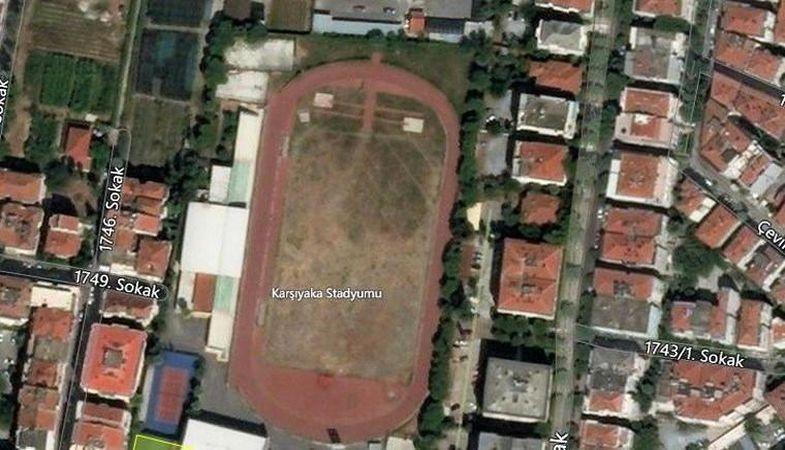 Karşıyaka Stadyumu'nun imar planı askıya çıktı