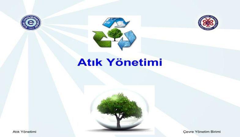 'Katı Atık Yönetimi Çalıştayı' bugün Konya'da başlıyor