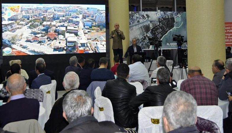 Kentsel dönüşüm Büyükçekmece'de vatandaşlara anlatıldı