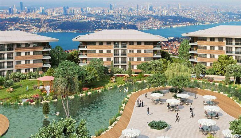 Safahat İstanbul projesi Çamlıca'ya lüks yaşamı getirmeye hazırlanıyor