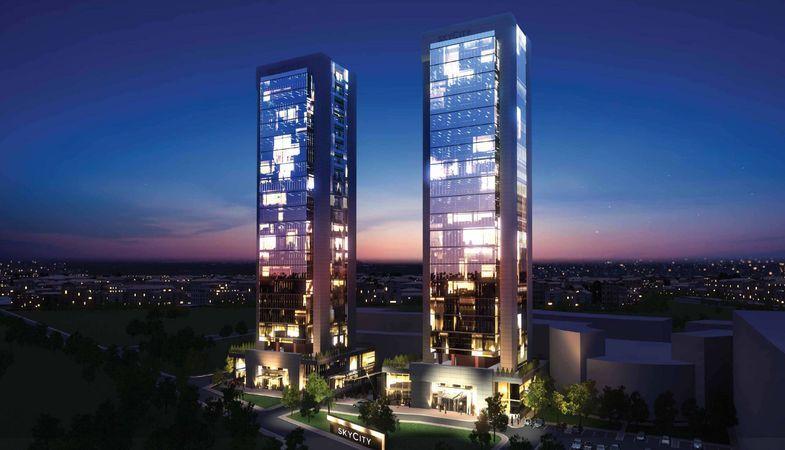 Skycity Denizli ofisleri 230 bin TL'den satışa sunuluyor