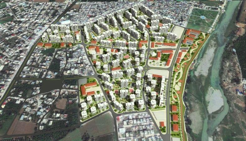 Adana Seyhan'da 9 kentsel dönüşüm projesi yürütülüyor