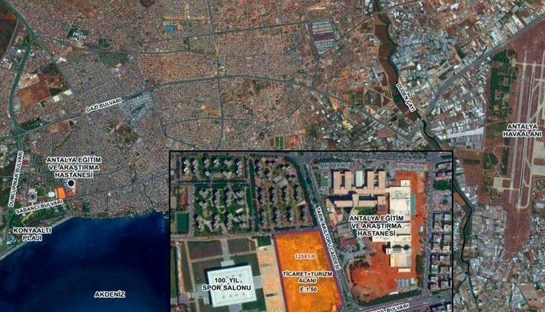 Antalya Muratpaşa arsa ihalesini Mesa Mesken aldı