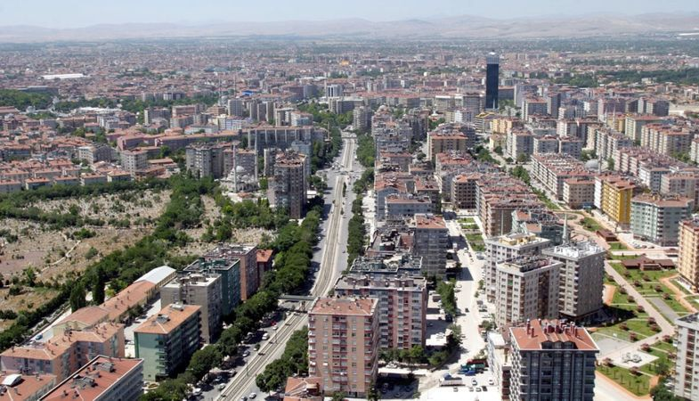 Konya PTT Müdürlüğü PTT Binası ve Lojmanını satıyor
