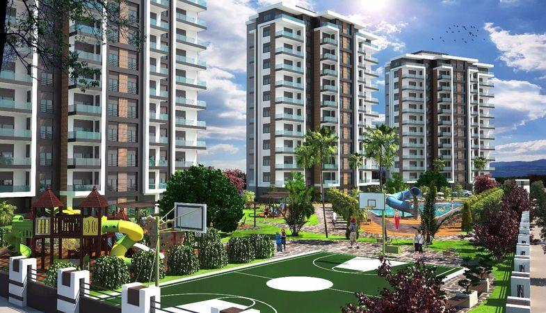 Tepe Şehir Konutları Antalya'da yükseliyor