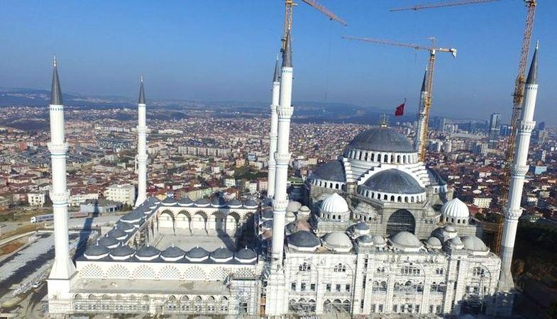 Çamlıca Camisi'nin açılış tarihi belli oldu
