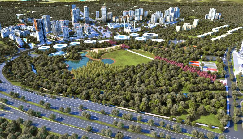 Emlak Konut Başakşehir'de 3 milyon metrekarelik alan inşa etti