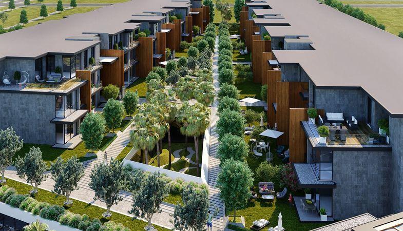 Landor Gaziemir projesi ile yeşiller içerisinde huzurlu bir yaşam alanı doğuyor