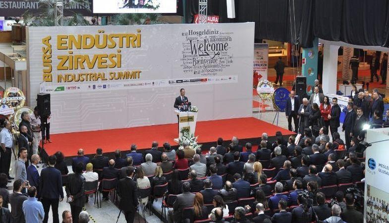 Profesyoneller Bursa Endüstri Zirvesi'nde toplanacak