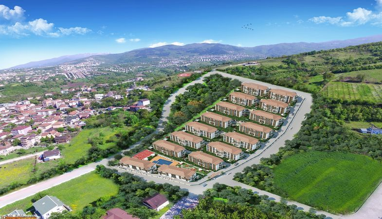 Üstpark Afraze projesi Kocaeli Başiskele'de yükseliyor