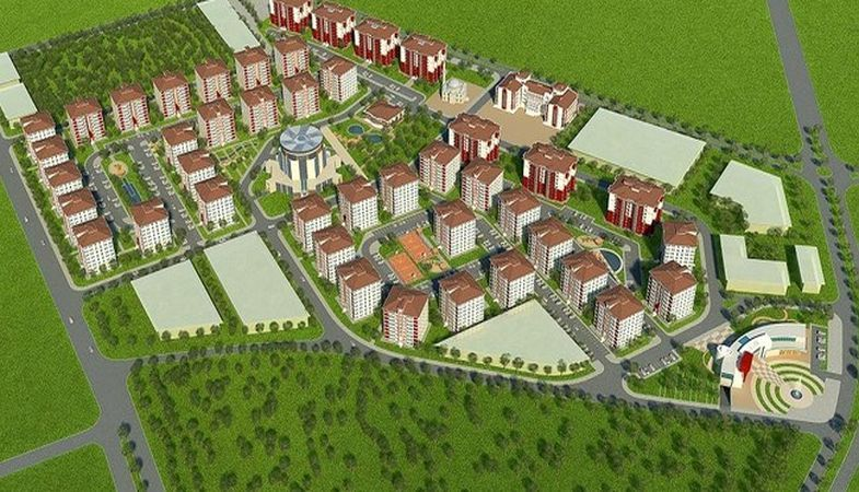 Kütahya Hoca Ahmet Yesevi Mahallesi kentsel dönüşüm projesi hazır