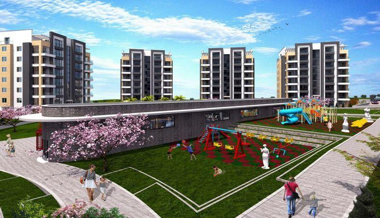 Lotus Park Residence projesi Bursa'da kaliteli bir site yaşamı sunuyor