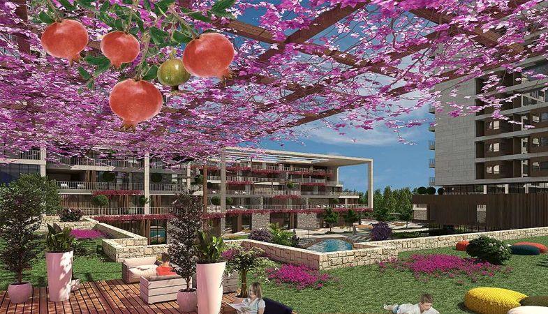 Narlı Bahçe Evleri 600 bin TL'den satışa sunuluyor
