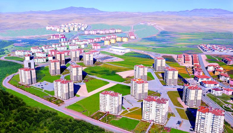 TOKİ Aksaray'da 288 TL taksitle konut satacak