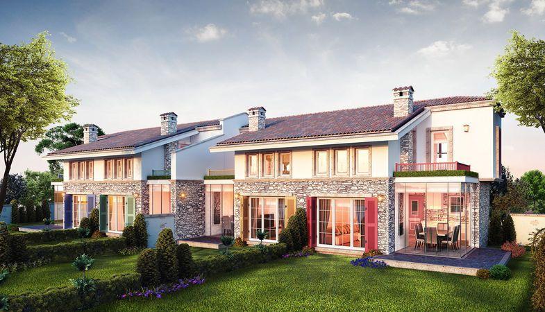 Urla Bağyolu Evleri fiyatları 750 bin TL'den başlıyor