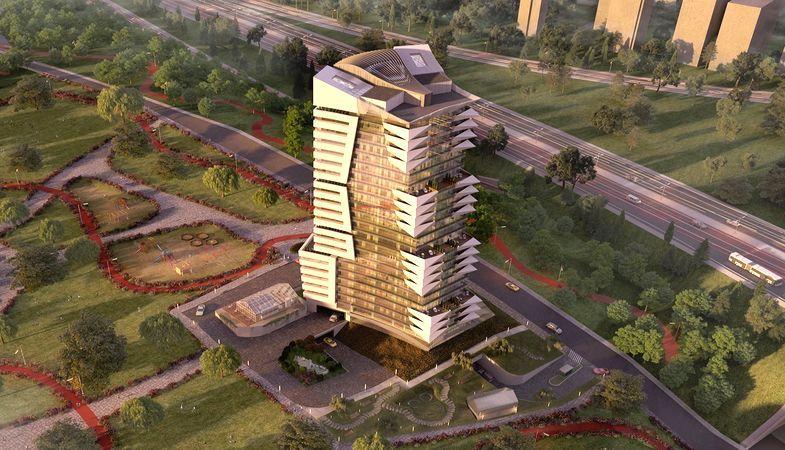 Alize Kapadokya projesi İstanbul Finans Merkezi'nde yükseliyor